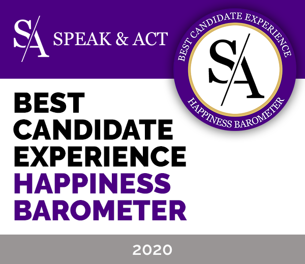 label CANDIDATE happyness barometer