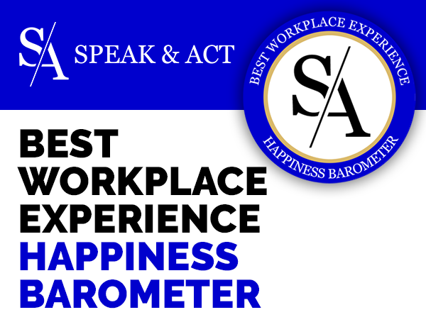 label WORKPLACE happyness barometer